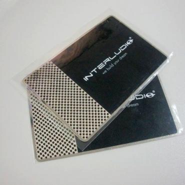 Carte métal